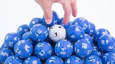 Thursday's $100 million Powerball draw is the largest in Australian history.