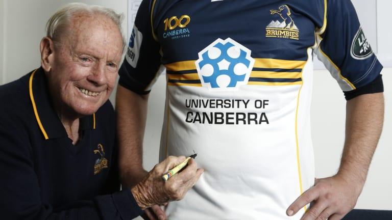 Canberra rugby legend Keith Hawke died last week. He was 86.
