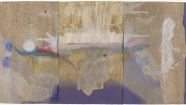 Helen Frankenthaler, <i>Madame Butterfly</i>, 2000. Purchased with the assistance of the Orde Poynon Fund.