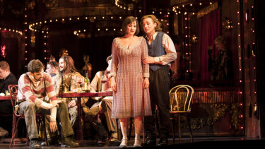 The action moves to Berlin in  Gale Edwards' production of La Boheme.