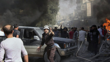 Idlib province is a stronghold of rebels in Syria and is situated on the border with Turkey.
