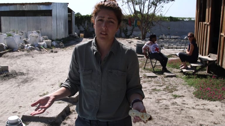 Dorsa learns there were clashes in a village where a colleague's mother and daughter live.