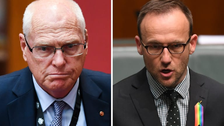 Senator Jim Molan said he accepted MP Adam Bandt's second go at saying sorry.