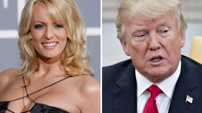Stormy Daniels has alleged an affair with Donald Trump.