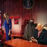 Trump stars at Madame Tussauds opening in Dubai