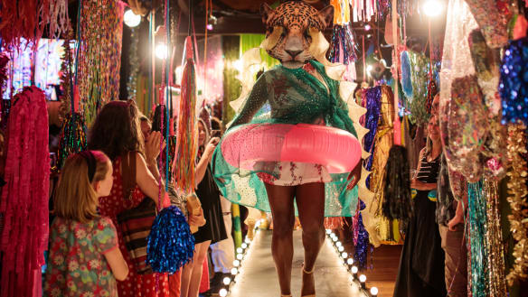 Launceston embraces the weird as Mona Foma finds hew home