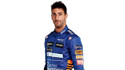 Ricciardo unveils new McLaren car after team switch