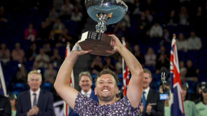 Australian Open champion Dylan Alcott on the moment that made him 'tear up'