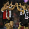 Saints prevail in gritty battle of attrition against the Hawks