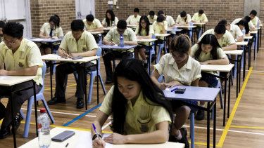 HSC students will be returning to the classroom next month.