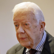 Former US president Jimmy Carter.