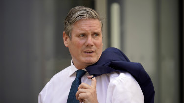 Labour leader Keir Starmer said he did not believe Tony Abbott was the right person for the job.