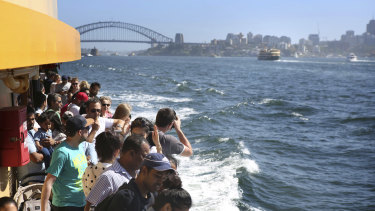 The future of the Freshwater-class ferries which ply the Manly-Circular Quay route remains uncertain.