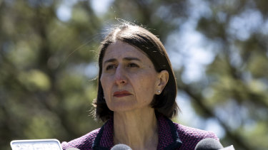 NSW Premier Gladys Berejiklian directly approved council grants under the Stronger Communities Fund.