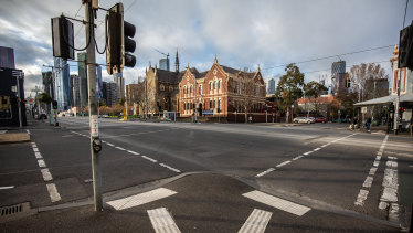 Melbourne's streets have been empty during lockdowns.