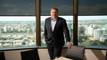 Adani Australia boss Lucas Dow.