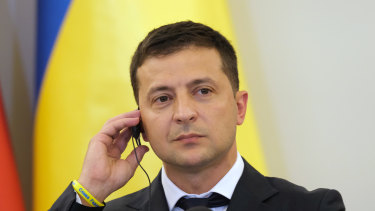 New Ukrainian President Volodymyr Zelensky, a former comedian, finds himself at the centre of a growing Trump whistleblower scandal.