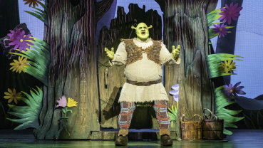 Ben Mingay is a hit as the ogre with a heart of gold.