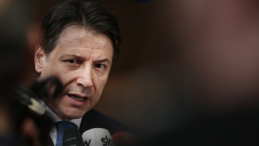 Italian Prime Minister Giuseppe Conte has defended his country's handling of the virus outbreak.