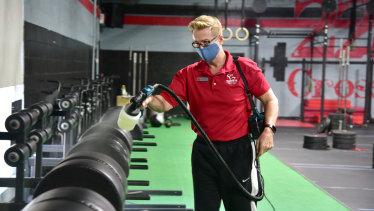 Tony Powell has reopened his popular Albany gym.