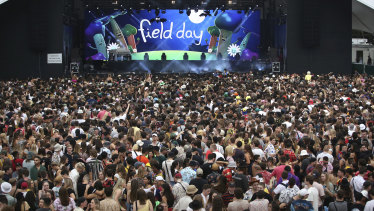 How long will it be before Australia will once again see music crowds packed like this?