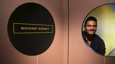 Shuey Shujab takes an unusual approach to sick leave at Whitehat Agency.