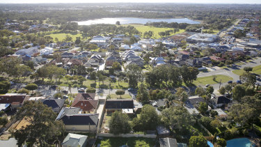 West Australians have an advantage, having more space for bigger, free-standing houses.