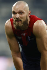Max Gawn is in imposing form for the Demons at the most important stage of the season.