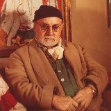Matisse in his Paris studio in 1948.