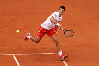 Novak Djokovic proved too strong for Italian young gun Lorenzo Musetti.