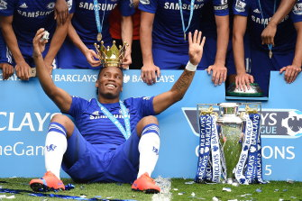 Chelsea legend Didier Drogba will play in the Football For Fires match at ANZ Stadium.