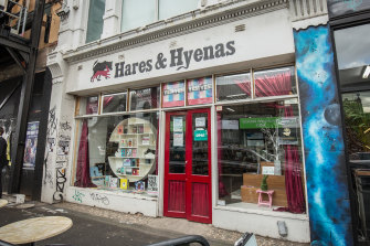 LGBTI bookshop Hares & Hyenas in Fitzroy
