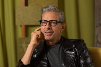 Jeff Goldblum in the documentary series Time Warp: The Greatest Cult Films of All Time.