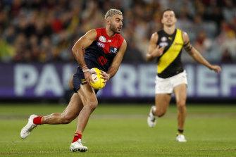 Christian Salem on the run against Richmond.