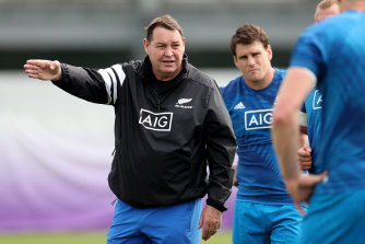 There could be a big weekend coming up for former All Blacks coach Steve Hansen.