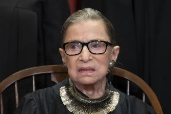Liberals fear Justice Ruth Bader Ginsburg, 86, would be replaced by Donald Trump with a conservative.