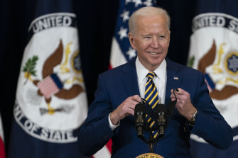 Joe Biden is looking to move fast to revitalise the economy.