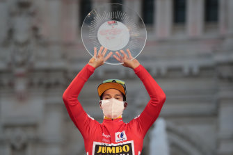 Primoz Roglic won four stages as well as the overall title at the Vuelta a Espana.