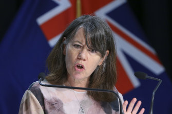 New Zealand's Director of Public Health Dr Caroline McElnay.