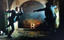 A fight scene in The Matrix Resurrections.