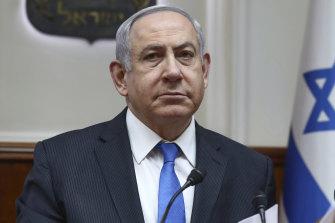 Israeli Prime Minister Banjamin Netanyahu.