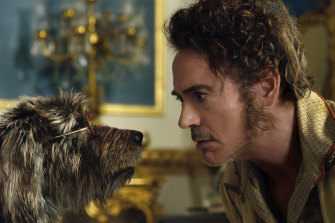 Robert Downey Jr disappoints as Dr Dolittle.
