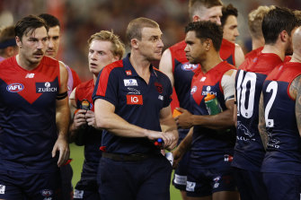 Demons coach Simon Goodwin is heading to the US in the off-season.