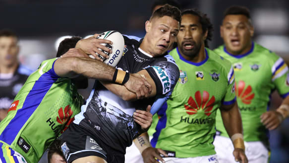 Raiders' flickering finals hopes blown away against the Sharks