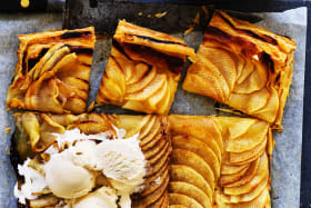 Neil Perry's five ingredient apple tart