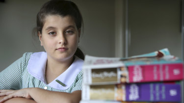 Year 6 student Andrea Ceccarini wants to attend The Forest High but is one street out of the catchment.