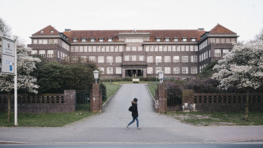 The Josef-Hospital in Delmenhorst, Germany, where the convicted killer Niels Hoegel once worked as a nurse.