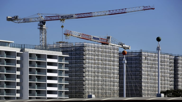 Australia has never had a 'build to rent' sector, so investors are wary of an untried product.