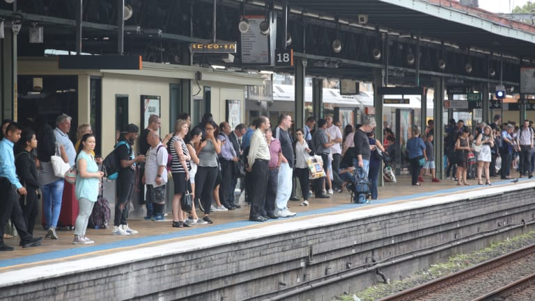 Thousands of passengers will be forced to change trains at Central.