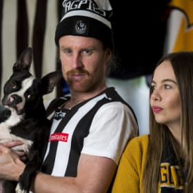 Her dad told her: never date a Pies supporter, What now?